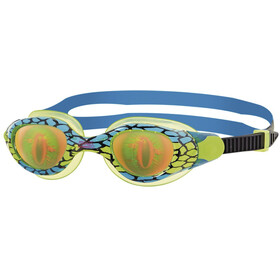 Zoggs Sea Demon Goggles Kids, green/blue